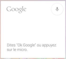 Activer OK Google sur Google Now pour votre Nexus 5
