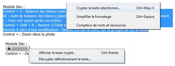 Evernote crypter decrypter une note
