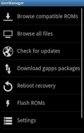 Installer une ROM Custom Android facilement - GooManager