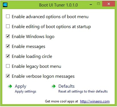 Les meilleurs logiciels 2013 Systeme - Boot UI Tuner