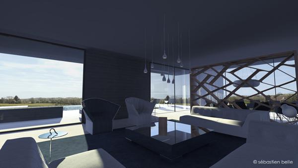 Maison Contemporaine S Belle Architecte Intrieur CFAI