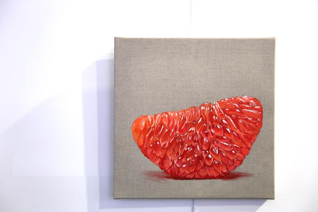 Quart de pamplemousse - 50 x 50 cm