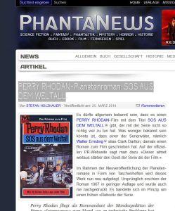SOS im Weltall-Planetenroman