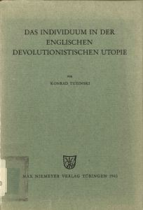 individium englische devolutionistische Utopie