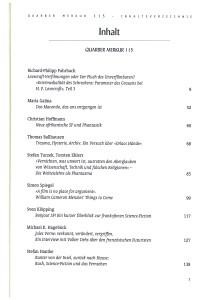 quarber merkur 115, Inhalt Seite 1