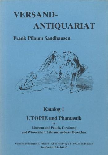 Versandantiquariat Frank Pflaum - Katalog 1