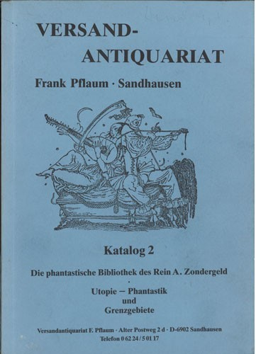 Versandantiquariat Frank Pflaum - Katalog 2
