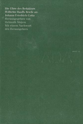 Helmuth Mojem (Hrsg.) - Die Ehre des Redaktors