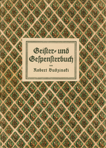 Robert Budzinski - Geister- und Gespensterbuch