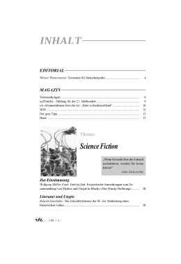 IDE-Science Fiction-Inhaltsverzeichnis Seite 1
