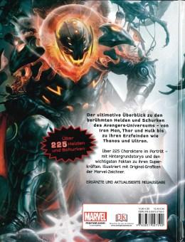 Lexikon der Superhelden Avengers – Rückencover
