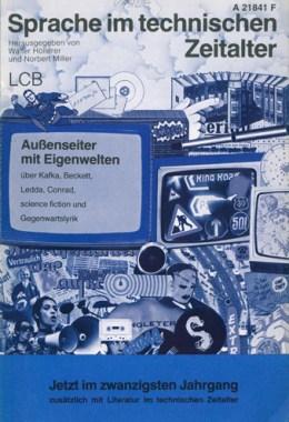 Sprache im technischen Zeitalter -Titelcover