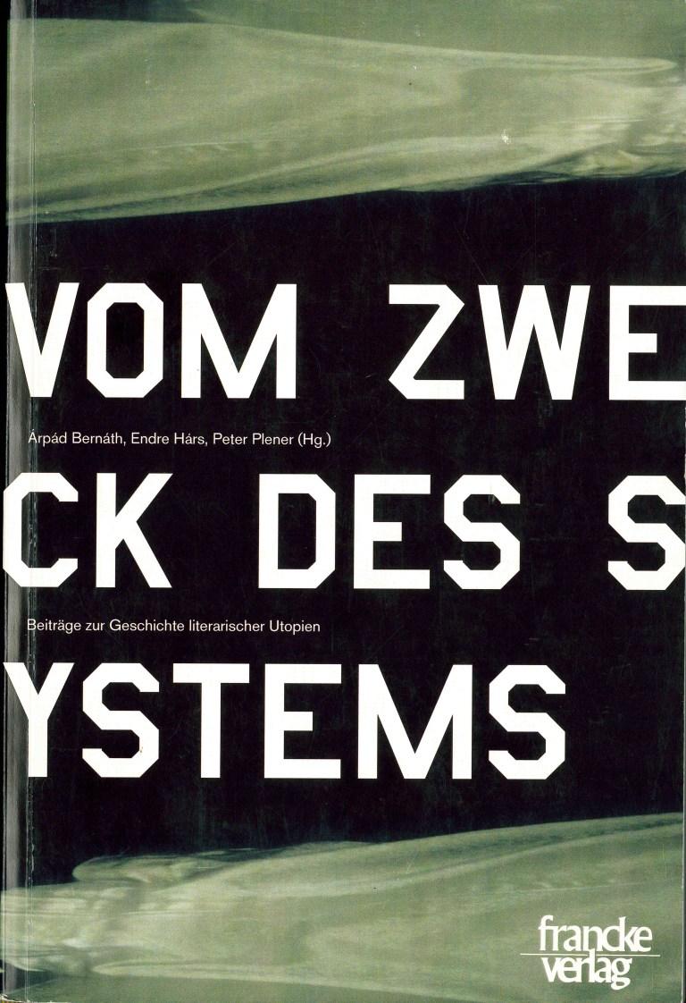 Vom Zweck des Systems - Titelcover