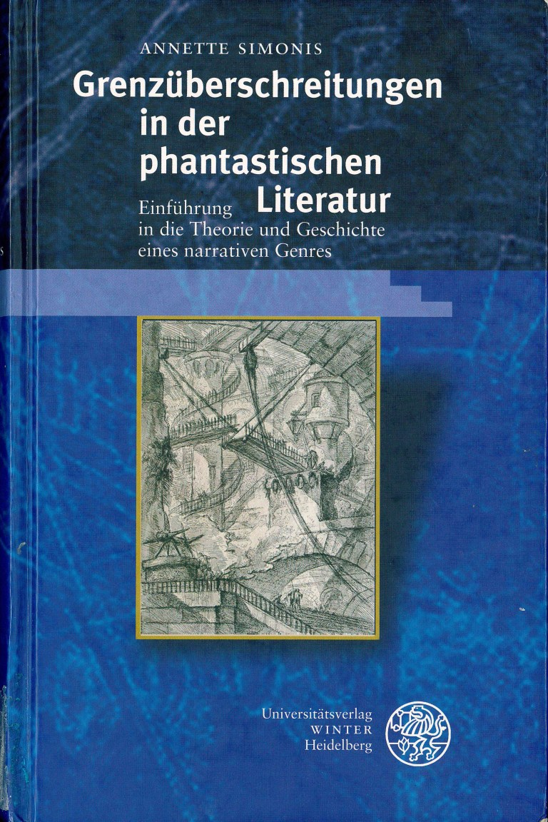 Grenzüberschreitungen i.d.phant. Literatur - Titelcover