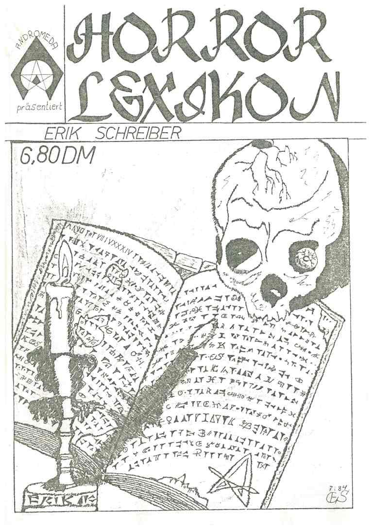 Horror Lexikon - Titelcover
