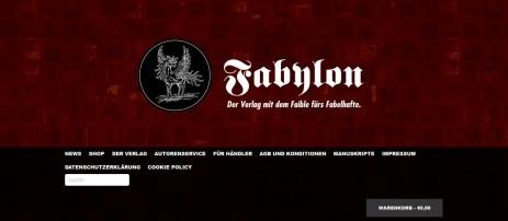 Fabilon - der Verlag für's Fabelhafte