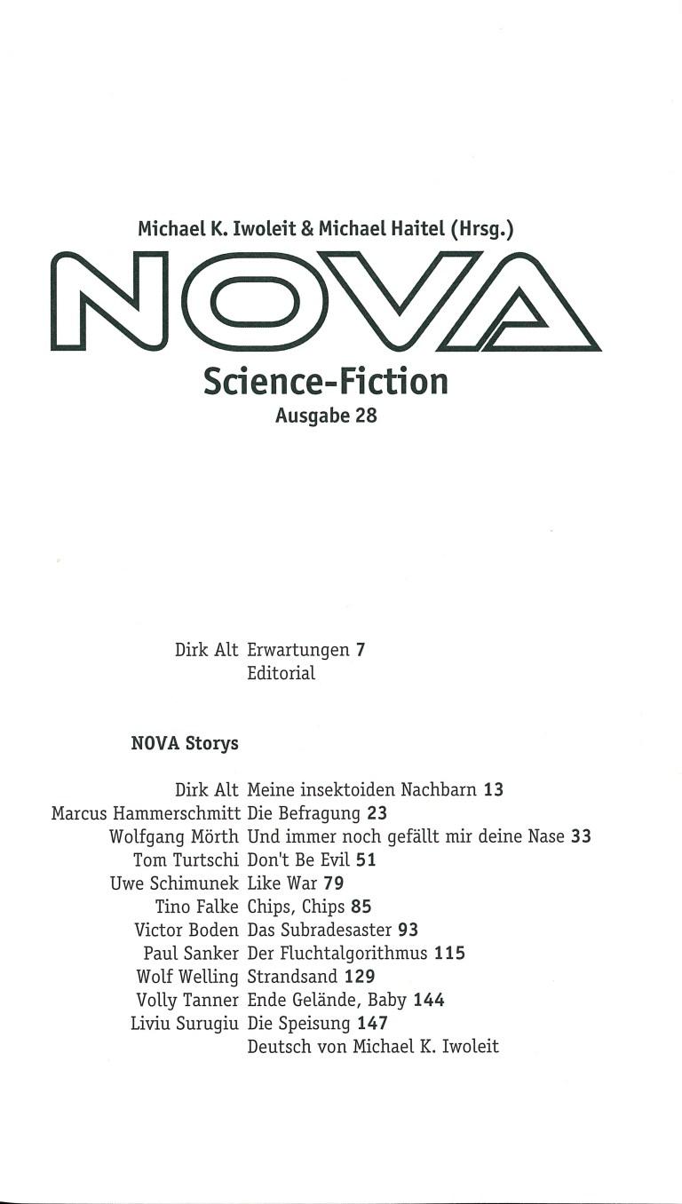 Nova 28 - Inhalt Seite 1