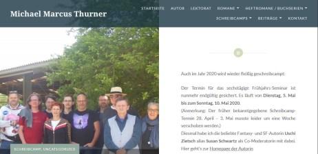 M.M. Thurner -Schreibcamp 2020