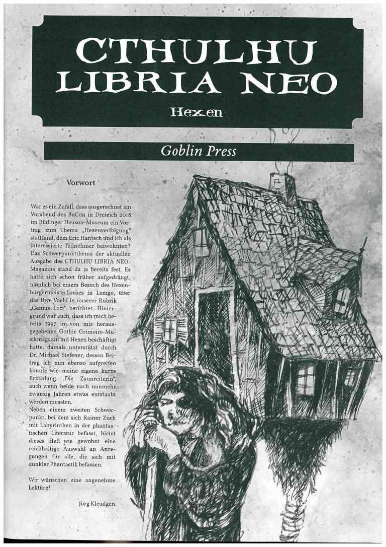 Cthuluhu Libria Neo - Nr. 7, Hexen
