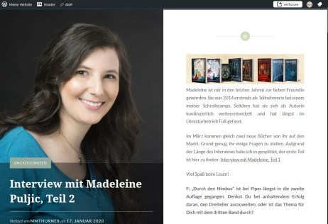 Interview Madeleine Puljic - 2