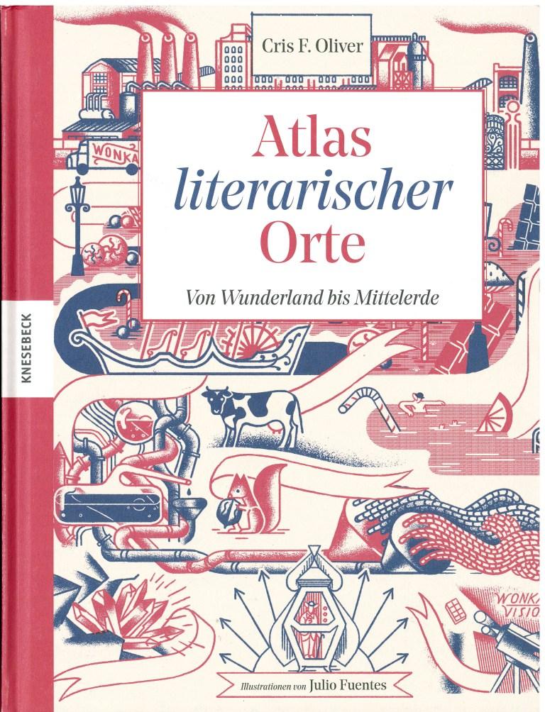 Atlas literarischer Orte - Titelcover
