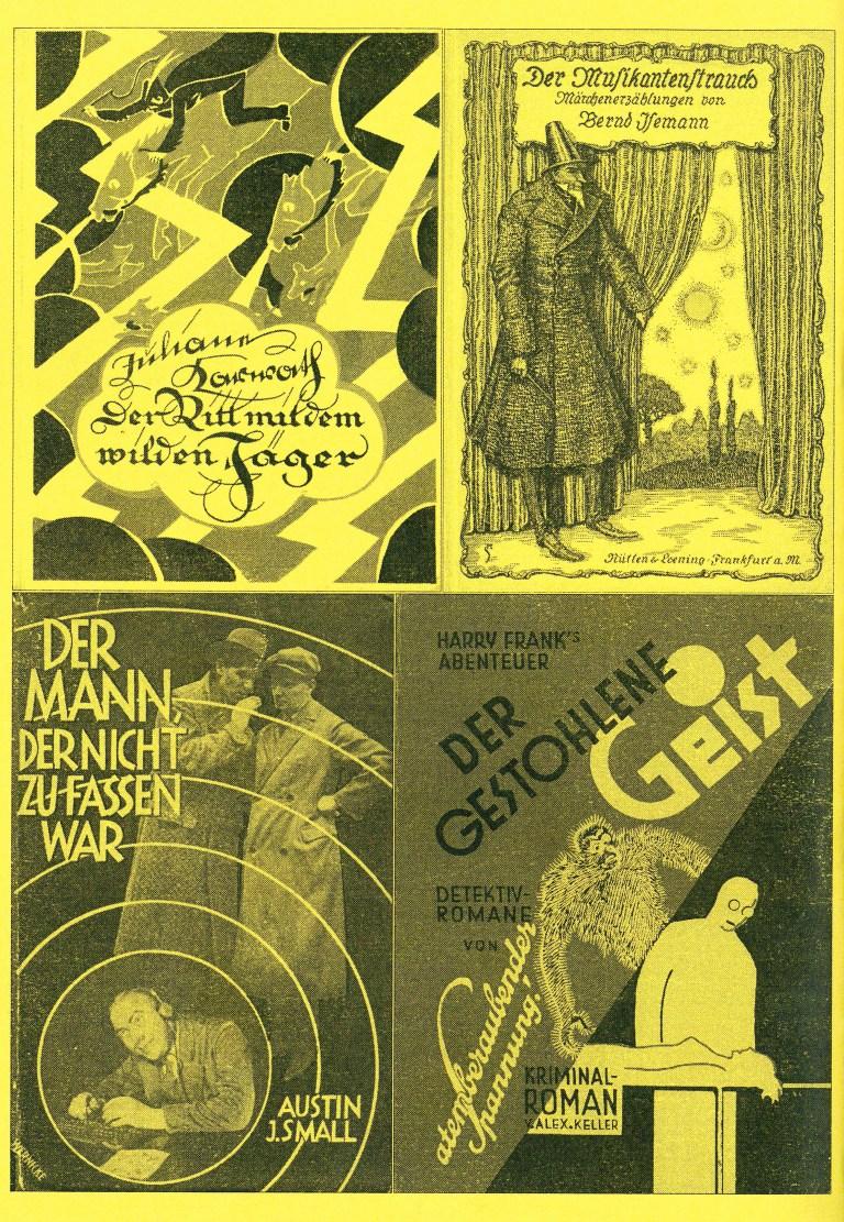 Ergänzungsband zur Bibliographie der Utopie und Phantastik 1650-1950 - Rückencover