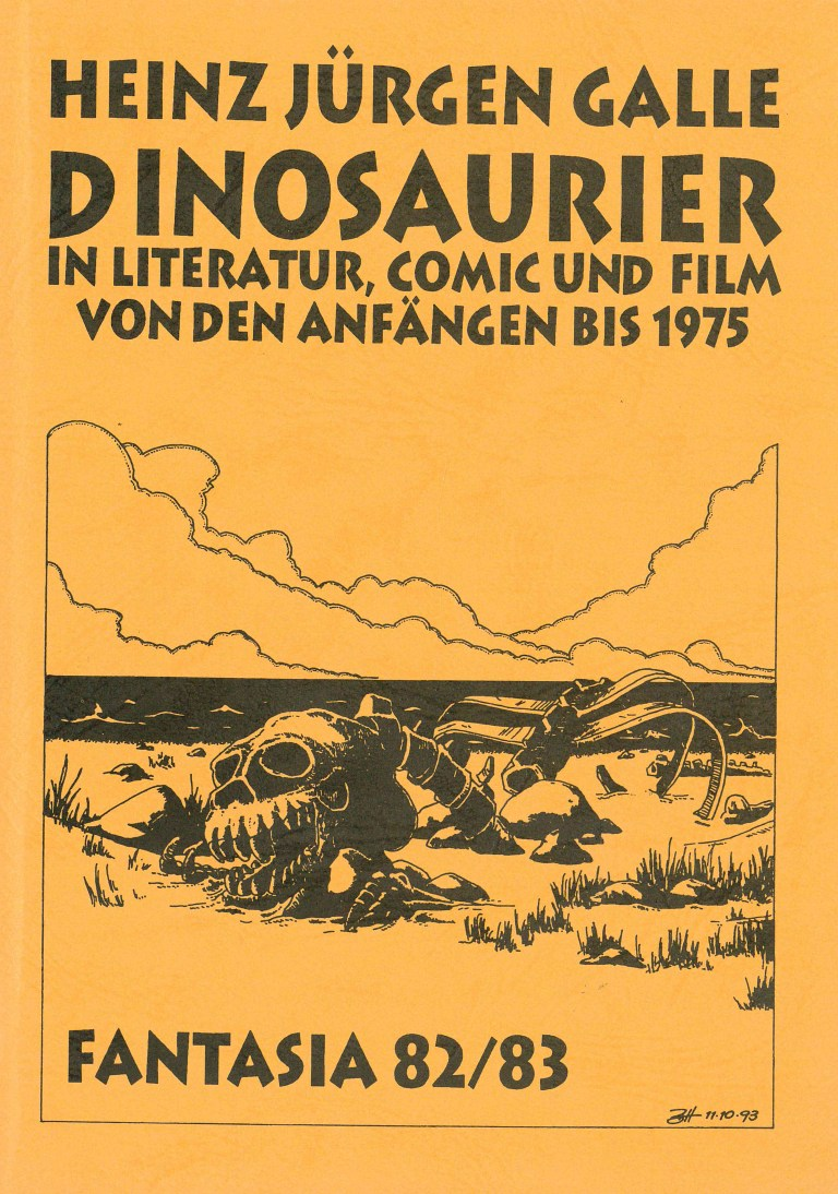 Fantasia 82/83: Dinosaurier - Titelcover