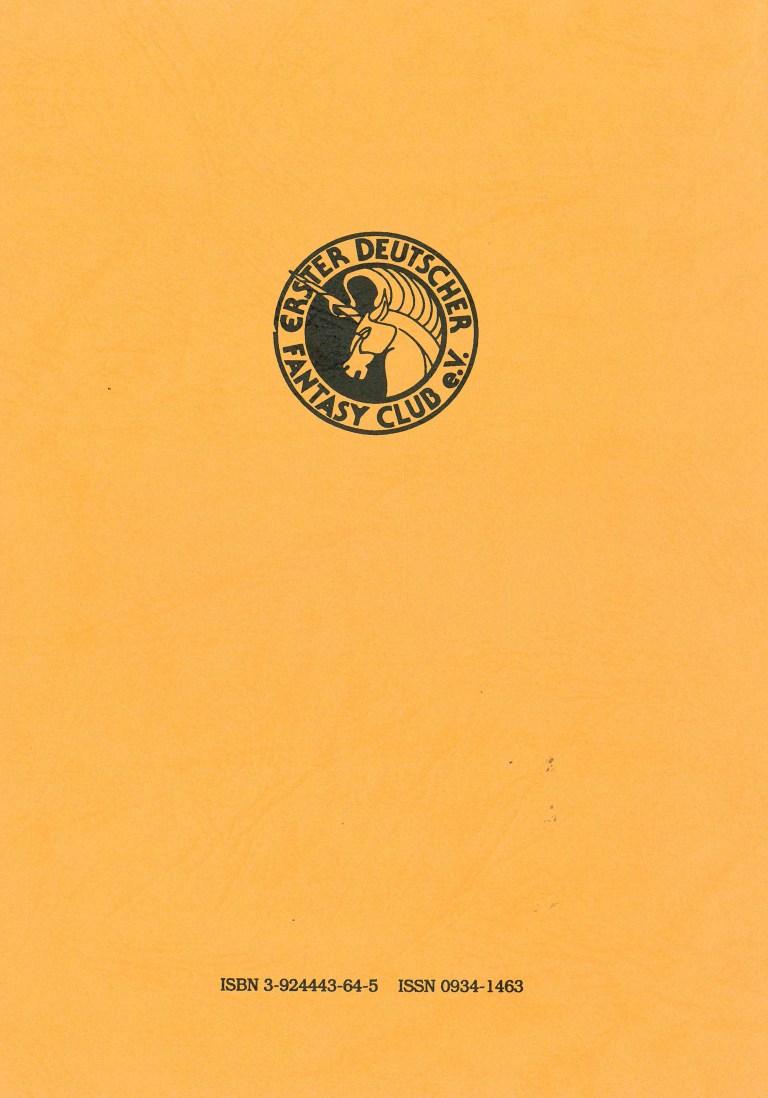 Fantasia 82/83: Dinosaurier - Rückencover