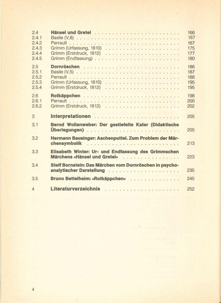 Märchen - Inhalt Seite 2