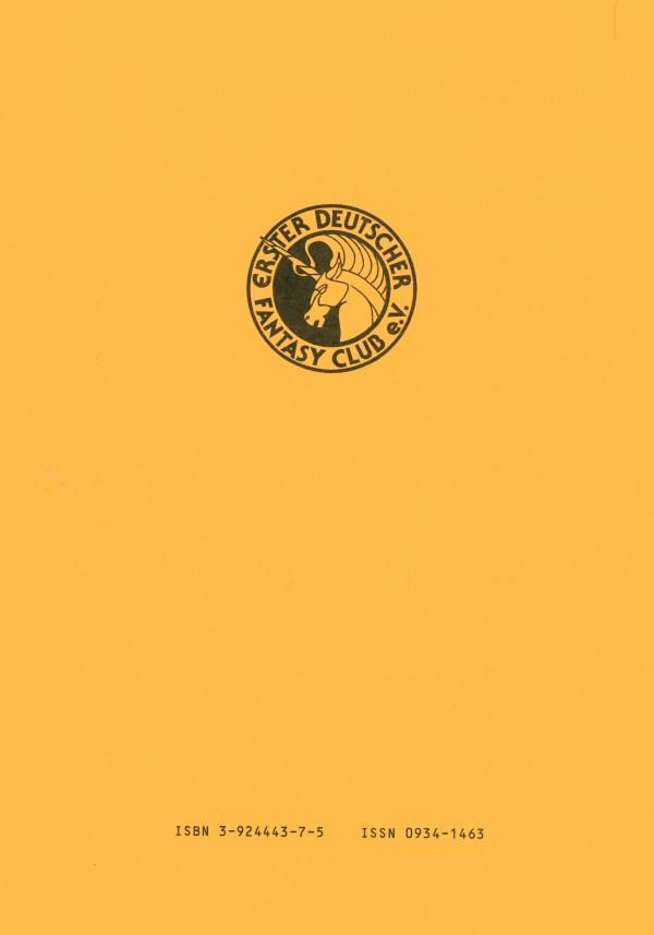 Fantasia 94, Science Fiction - Rückencover