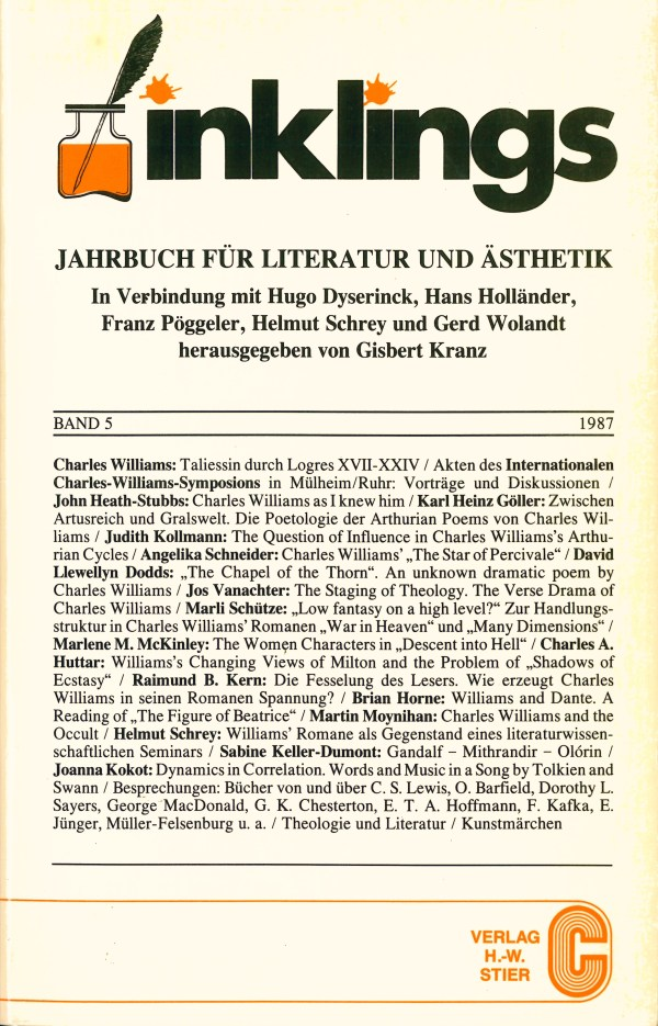 Inklings-Jahrbuch, Band 5 - Titelcover