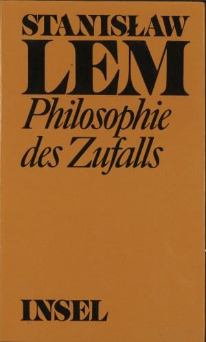 Philosophie des Zufalls, Band 1 - Titelcover