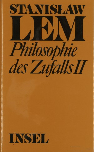 Philosophie des Zufalls, Band 2 - Titelcover