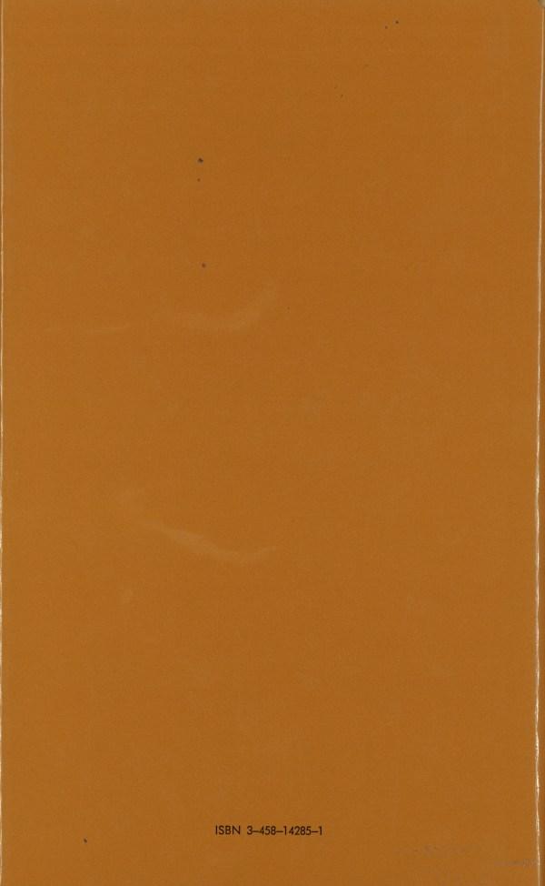 Philosophie des Zufalls, Band 2 - Rückencover
