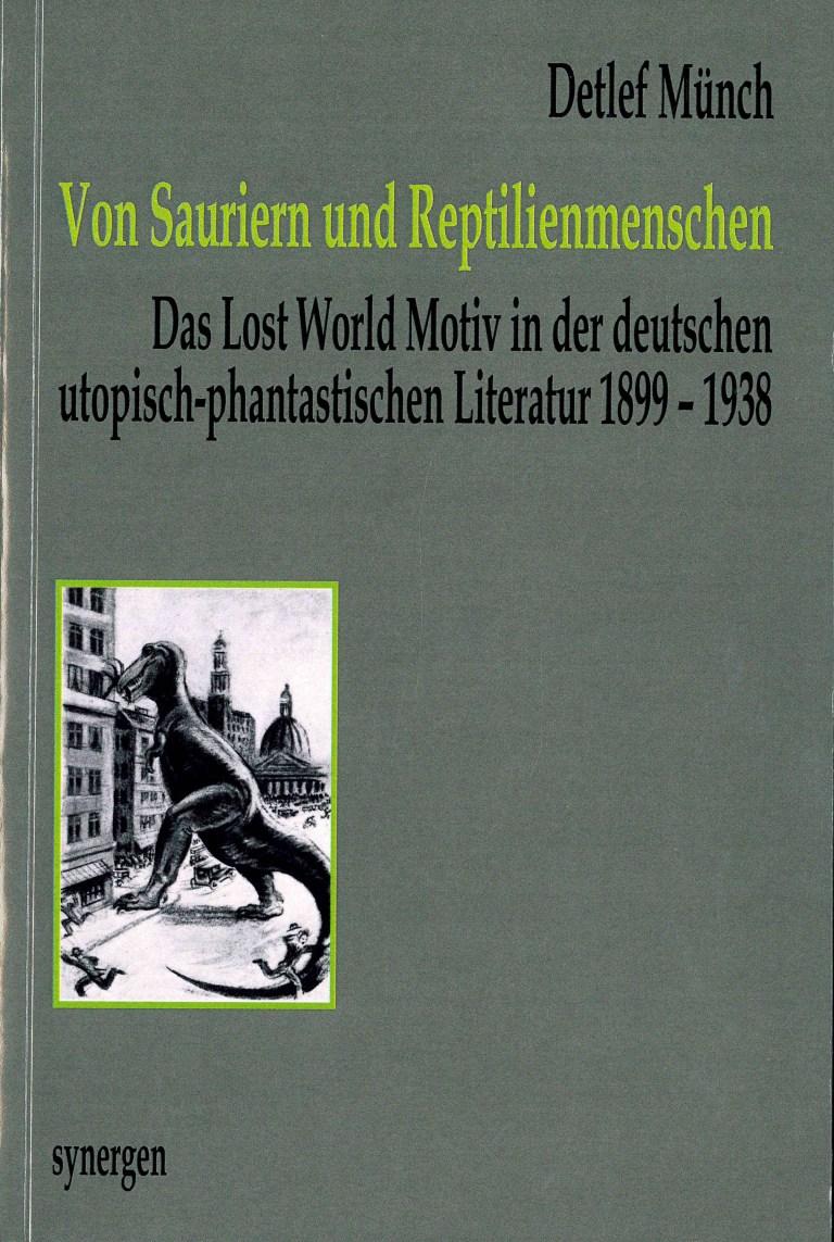 Von Sauriern und Reptilienmenschen - Titelcover