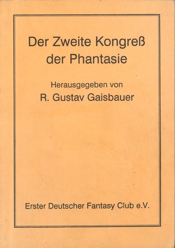 Fantasia 42-34, 2. Kongress - Titelcover