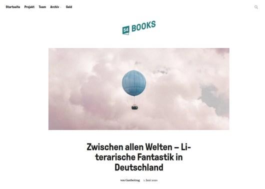 Zwischen allen Welten – Literarische Fantastik in Deutschland