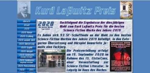 Kurd-Laßwitz-Preis 2020