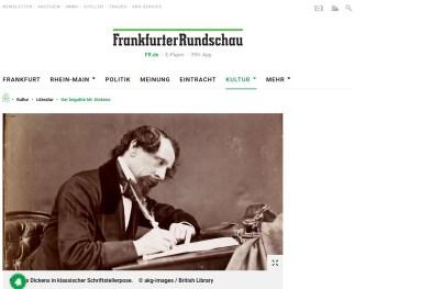 Dickens Frankfurter Rundschau