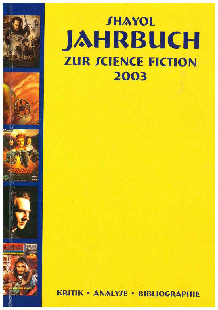 Shayol Jahrbuch zur Science Fiction 2003 - Titelcover