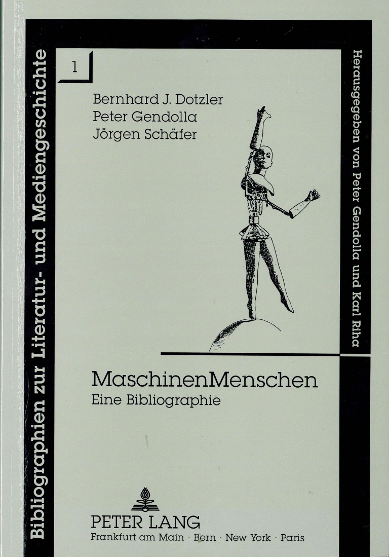 MaschinenMenschen - Titelcover