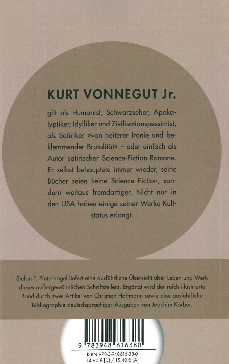 Kurt Vonnegut jr. - Rückencover