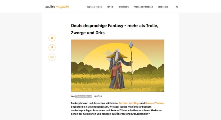 Audible Magazin