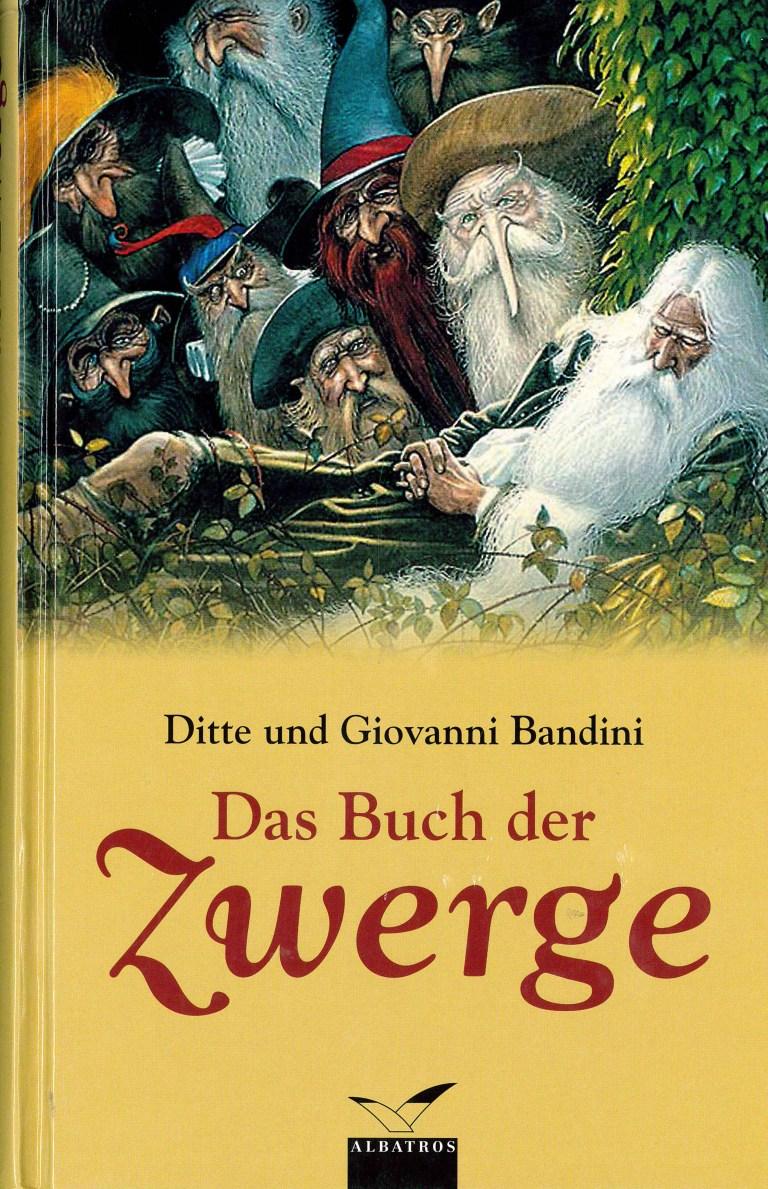 Das Buch der Zwerge - Titelcover