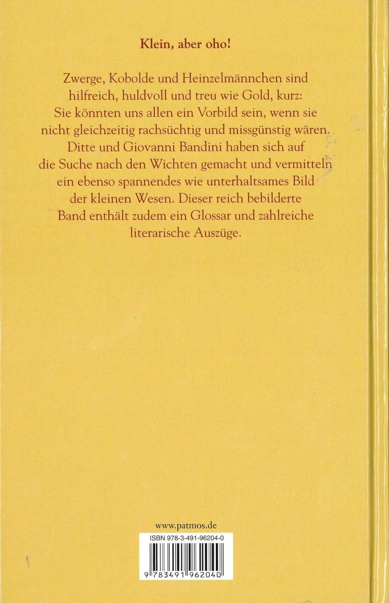 Das Buch der Zwerge - Rückencover