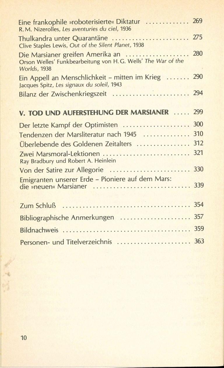 Das Jahrhundert der Marsianer - Inhalt Seite 4