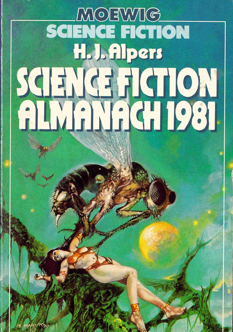 Science Fiction Almanach 1981 - Titelcover