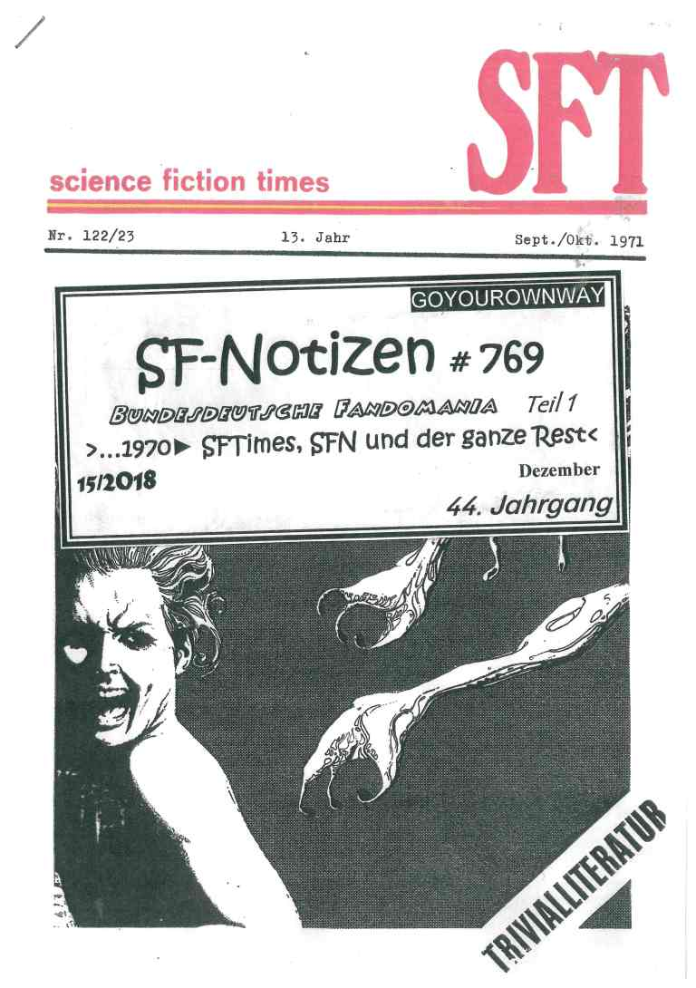 SF-Notizen 769 - Titelcover