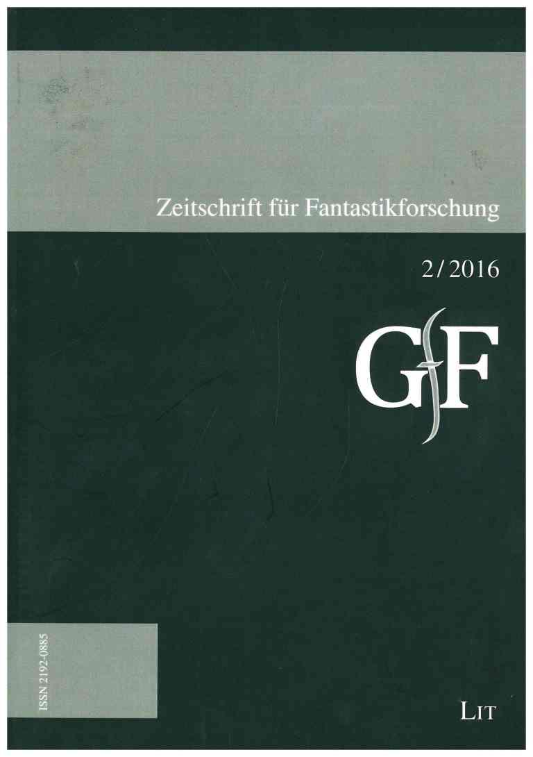 Zeitung für Fantstikforschung (ZFF), 2/2016 - Titelcover