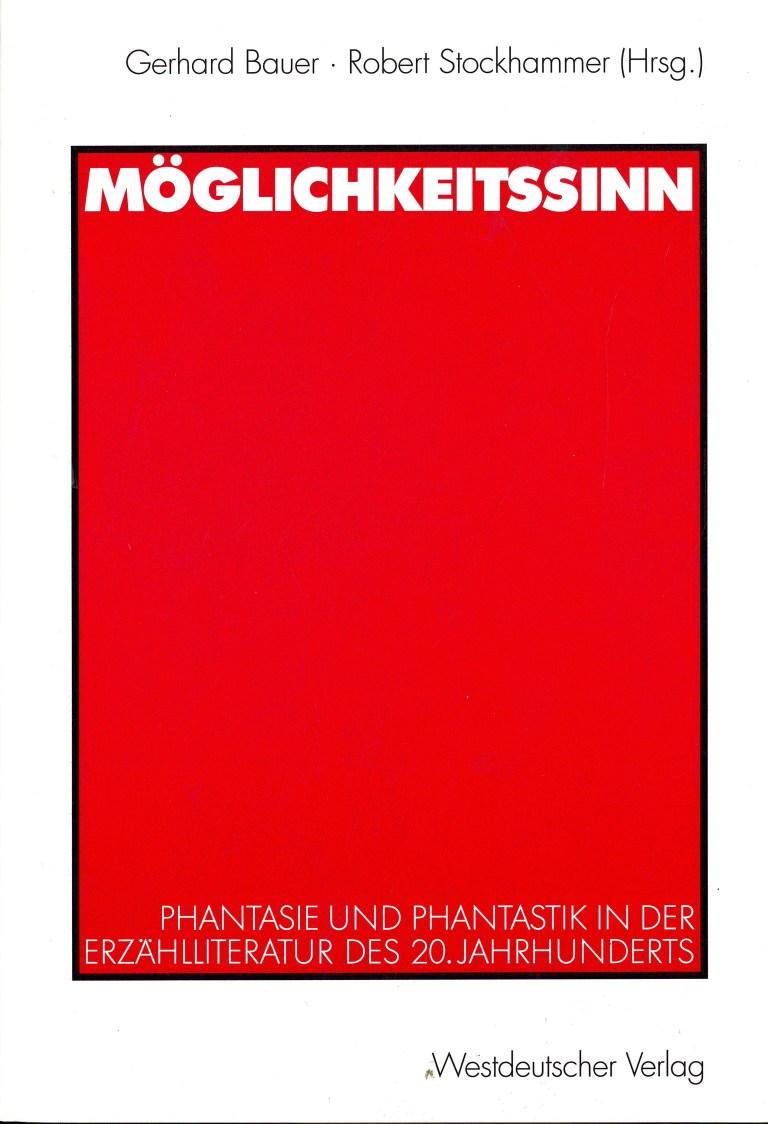 Möglichkeitssinn - Titelcover
